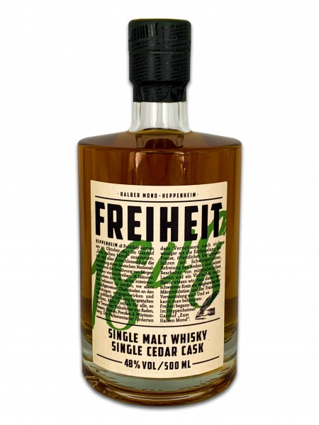 Whisky Freiheit 1848 Zedern Cask 48% Alk. Vol.